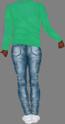 Female body black